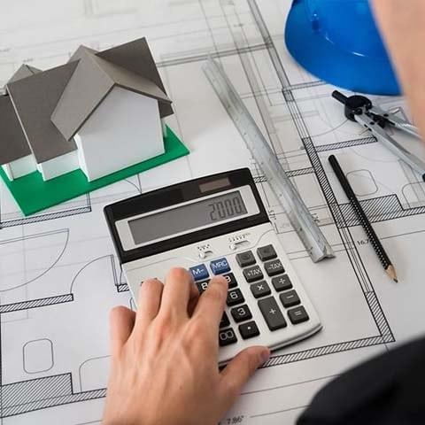 Расчет стоимости строительных работ
