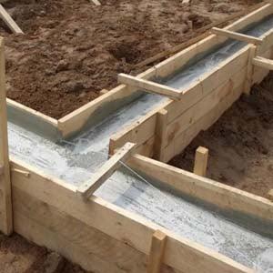 Заливка фундамента для дома летночного монолитная плита