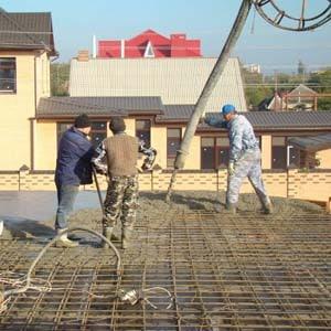 Заливка межэтажных монолитных плит перекрытия Севастополь